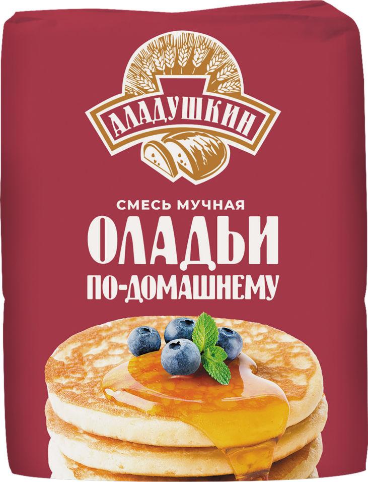 Смесь для выпечки Аладушкин Оладьи по-домашнему 800г