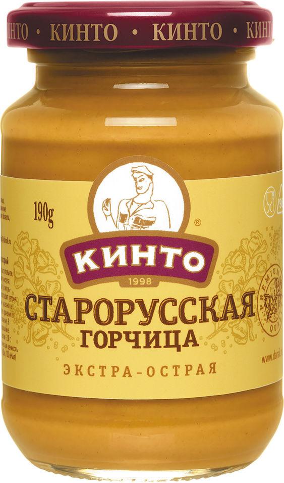 Горчица Кинто Старорусская 170мл