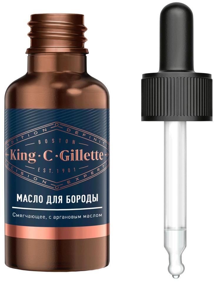 Масло King C Gillette для бороды 30мл