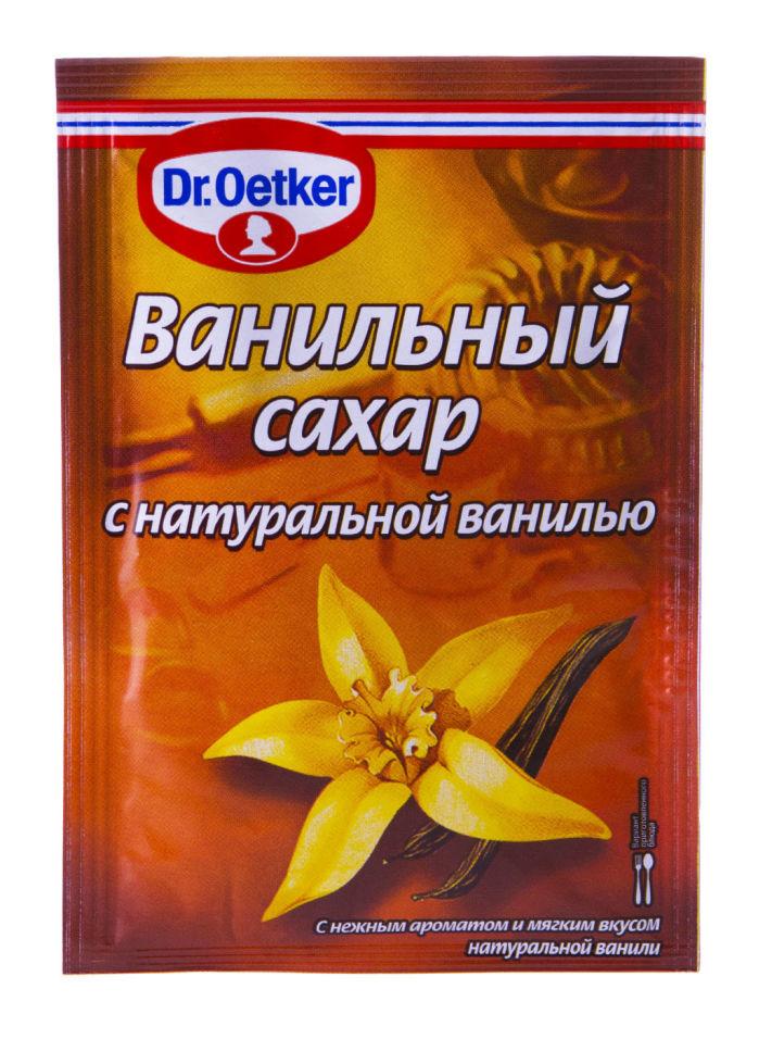 Сахар Dr.Oetker Ванильный с натуральной ванилью 15г