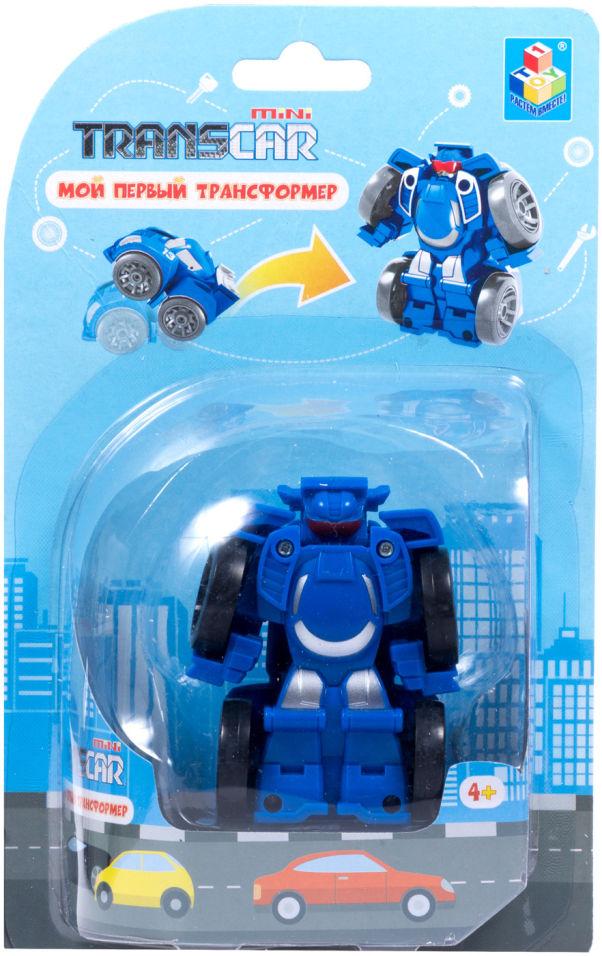Игрушка 1Toy Мой первый трансформер Суперкар 6см