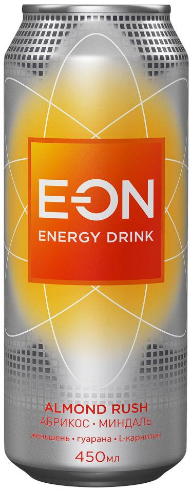 Напиток E-ON Almond Rush энергетический 450мл (упаковка 12 шт.)