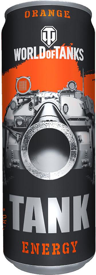 Напиток World of Tanks Orange энергетический 450мл