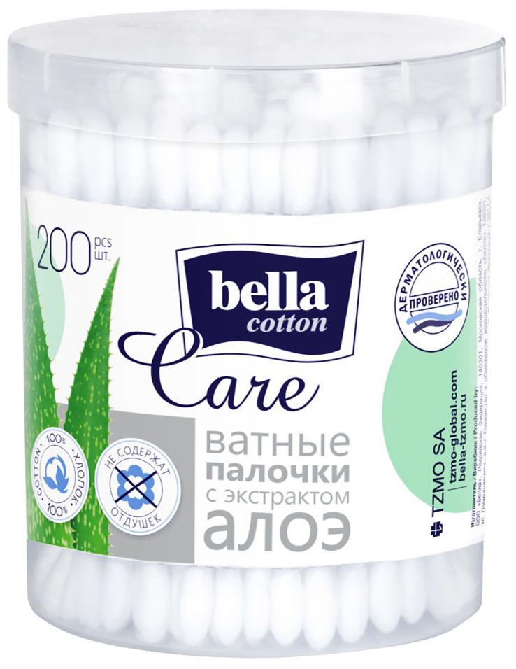 Ватные палочки Bella cotton care 200шт