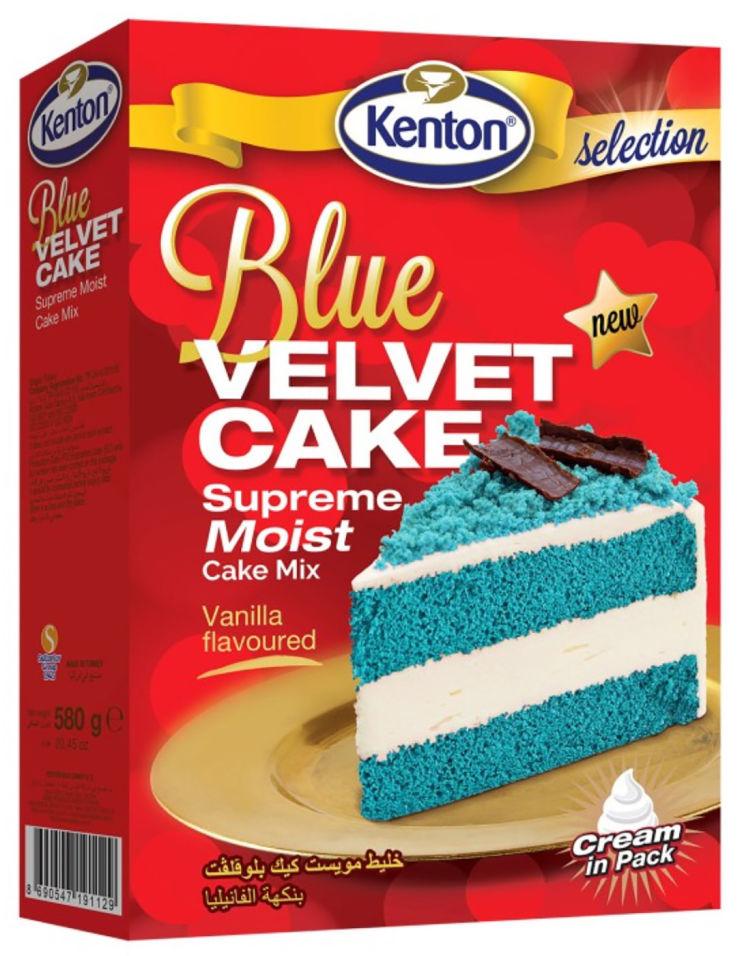 Смесь для выпечки Kenton Синий бархат 580г