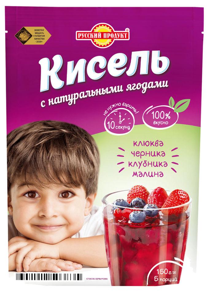 Кисель Русский продукт Лесные ягоды 150г