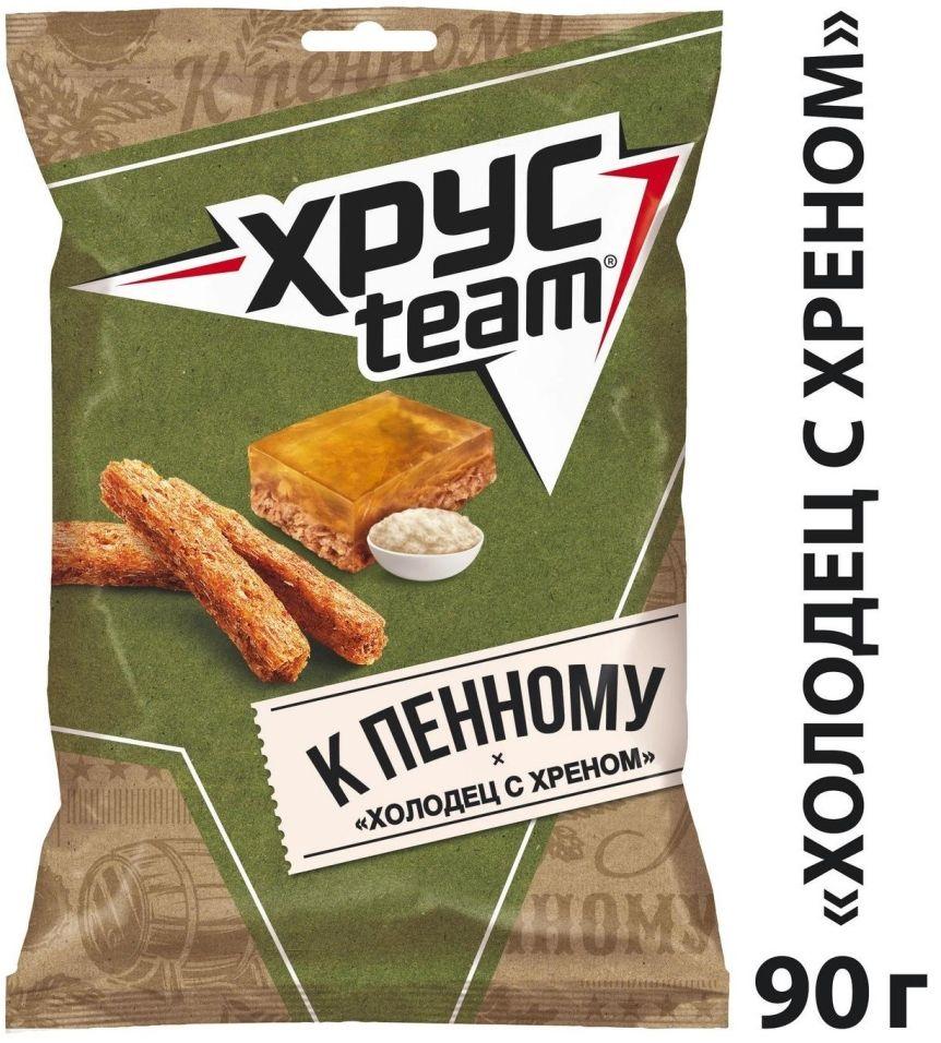 Сухарики Хрусteam К Пенному Холодец с хреном 90г