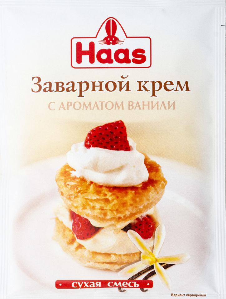Крем заварной Haas Ванильный 100г