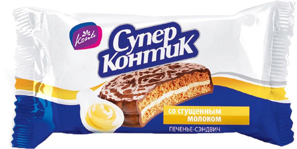 Печенье Konti Супер-Контик со сгущенкой 100г