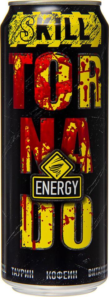 Напиток Tornado Energy Skill энергетический 450мл