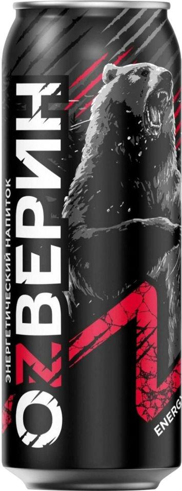 Напиток Оzверин В темном энергетический 450мл