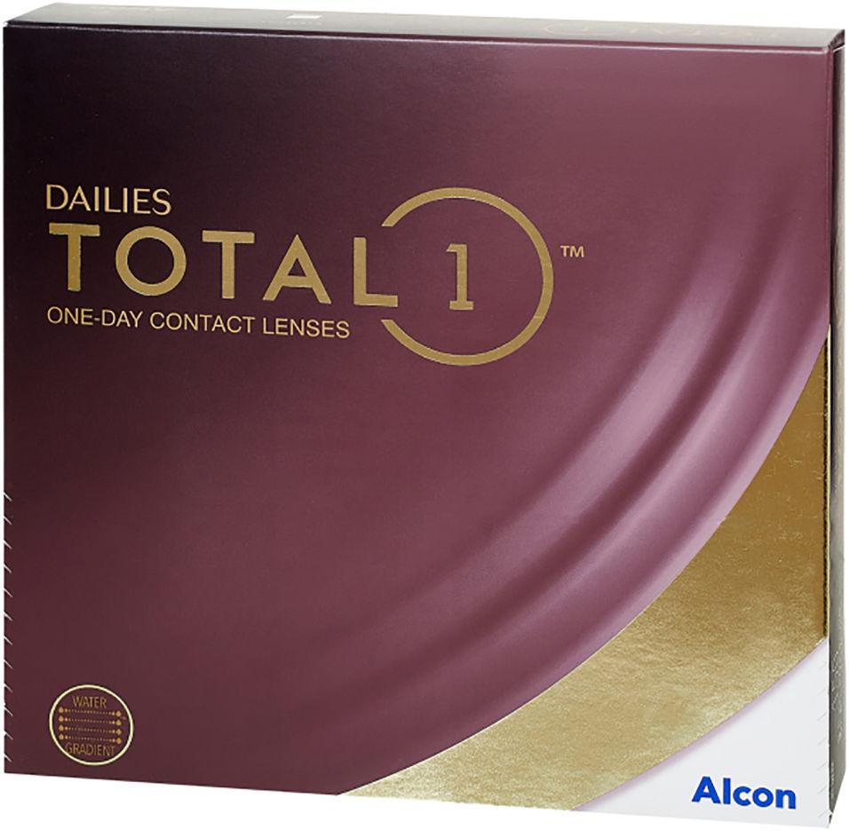 Контактные линзы Dailies Total 1 Однодневные -2.50/14.1/8.5 90шт