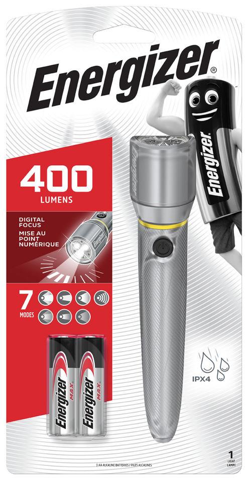 Фонарь Energizer 400 lumens + 2AA