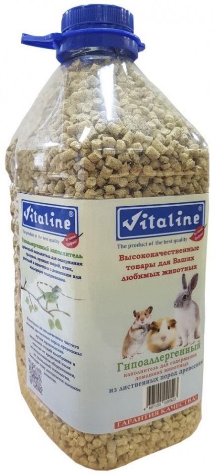 Наполнитель для животных Vitaline гипоаллергенный 4.5л