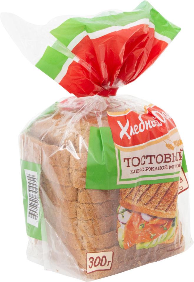 Хлеб Хлебный дом Тостовый с ржаной мукой300г