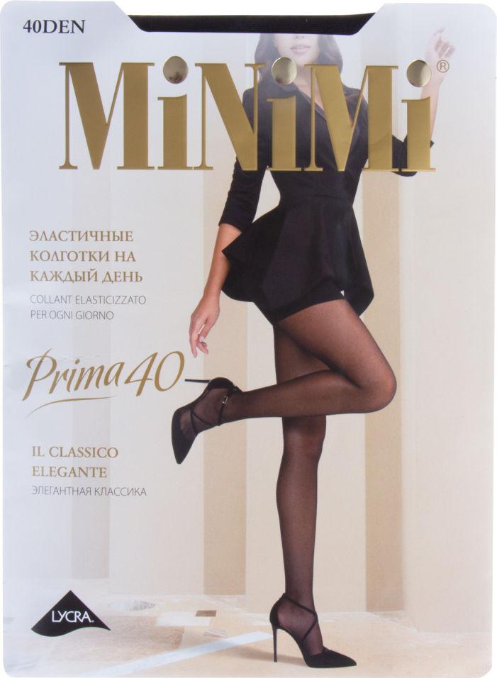 Колготки Minimi Prima 40 Nero Черные Размер 3