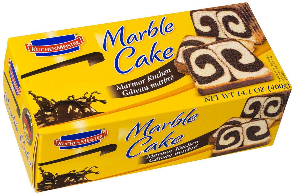 Кекс KuchenMeister Marble Cake мраморный 400г