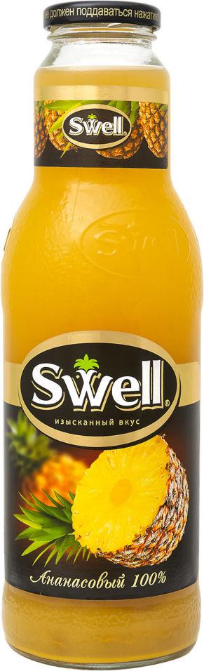 Сок Swell Ананасовый с мякотью 750мл