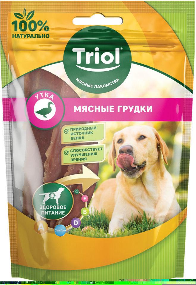 Лакомство для собак Triol Мясные грудки из Утки 70г