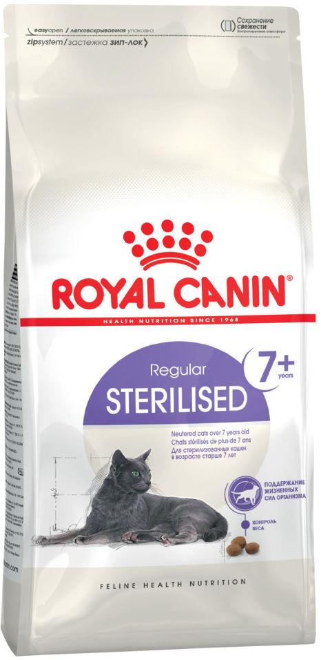 Отзывы о Сухом корме для кошек Royal Canin Sterilised 7+ Птица 400г