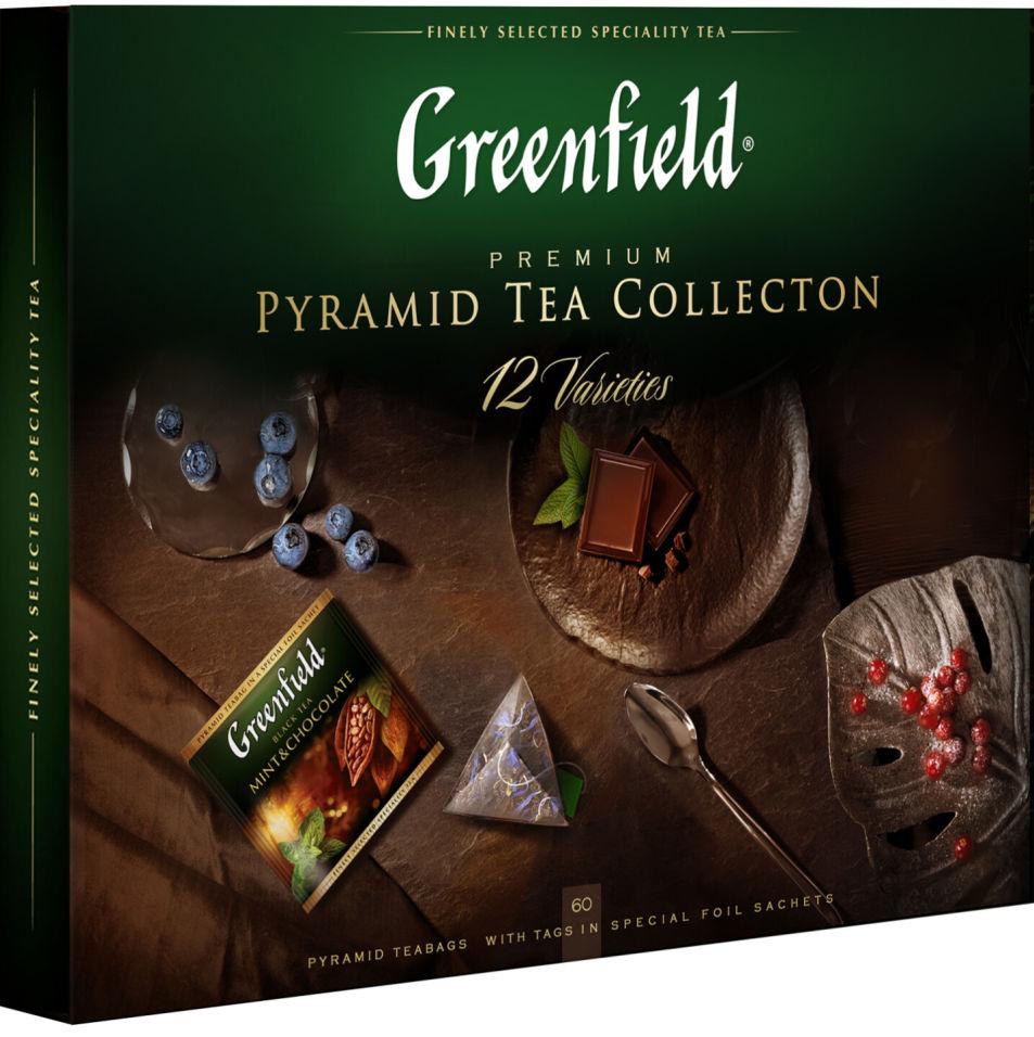 купить чай ассорти подарочный набор