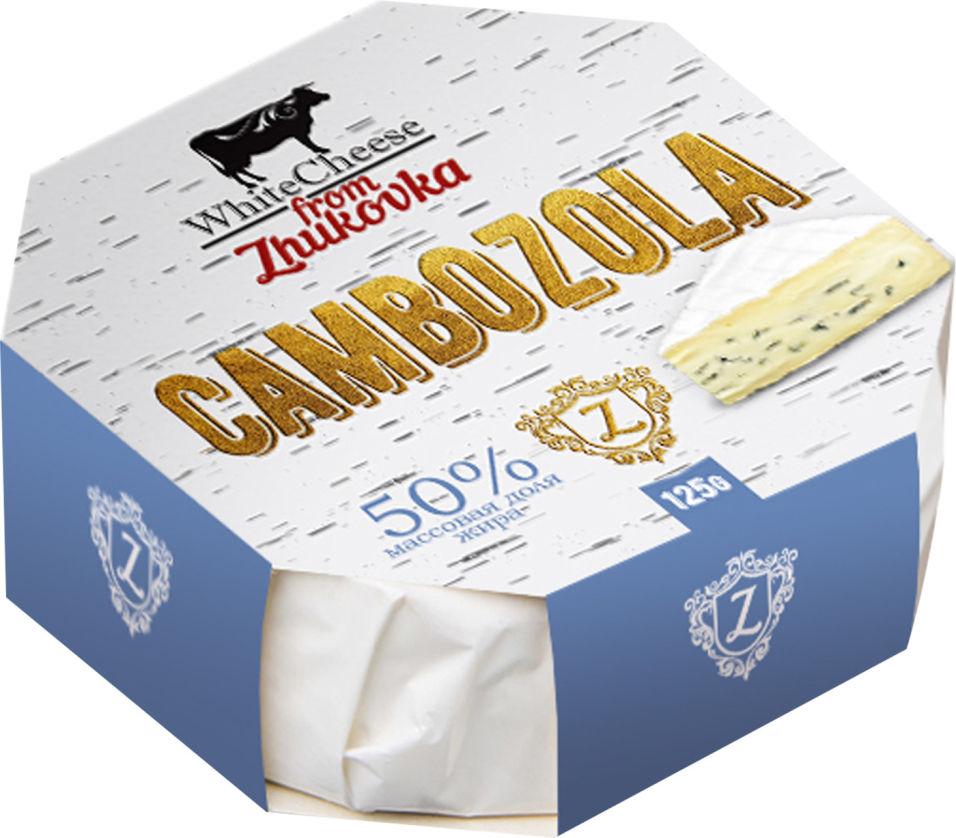 Отзывы о Сыре White Cheese from Zhukovka Камбоцола с голубой плесенью 50% 125г