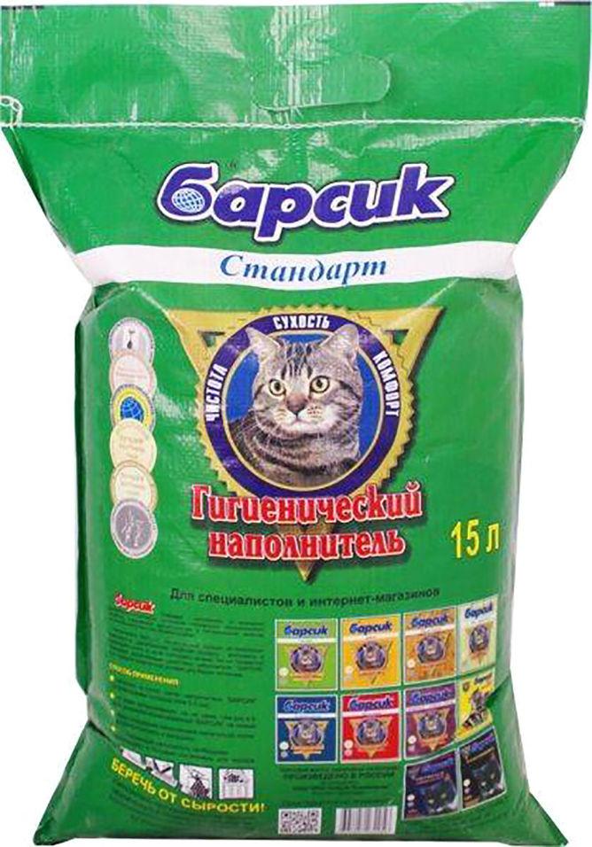 Наполнитель для кошачьего туалета Барсик впитывающий 15л