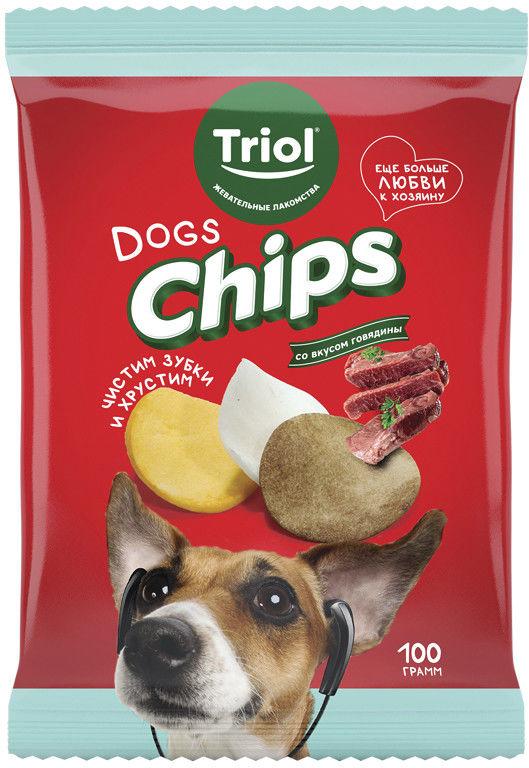 Отзывы о Лакомстве для собак Triol Fun Food Чипсы со вкусом говядины 100г