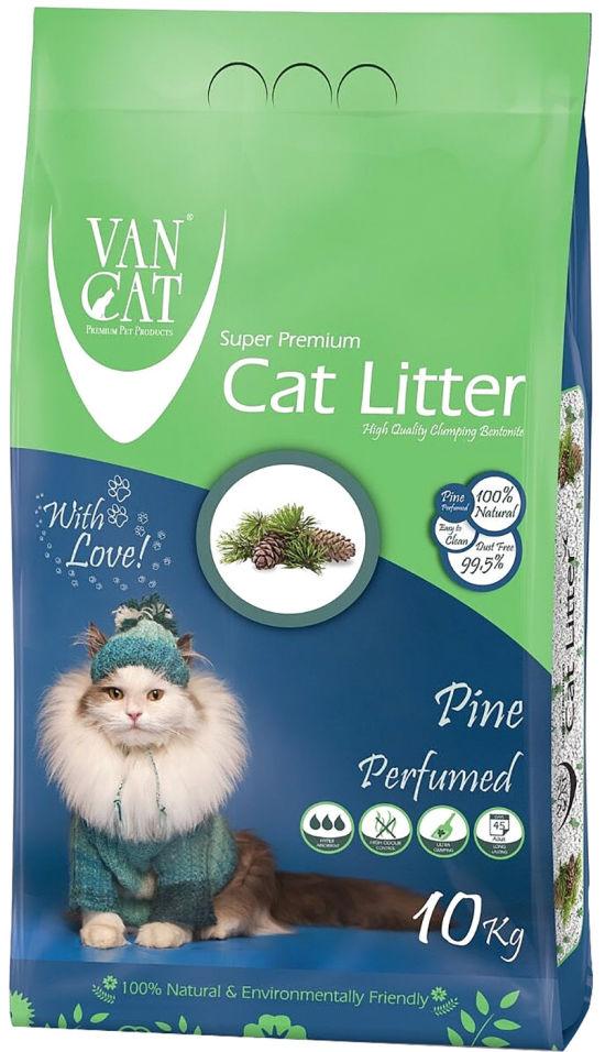 Отзывы о Наполнителе для кошачьего туалета Van Cat Сосновый лес комкующийся 10кг