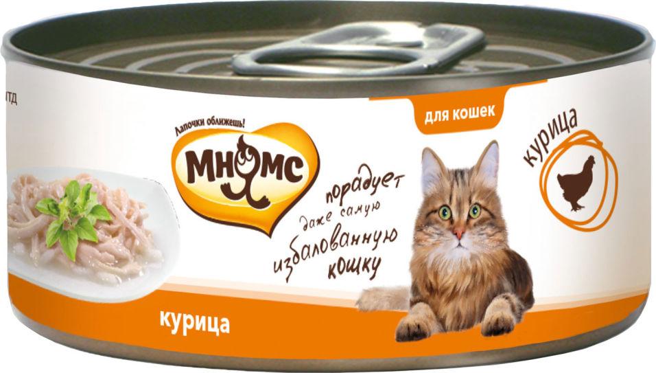 Корм для кошек Мнямс Курица нежном в желе 70г