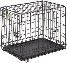 Клетка для животных Midwest iCrate двухдверная чёрная 91*58*63см