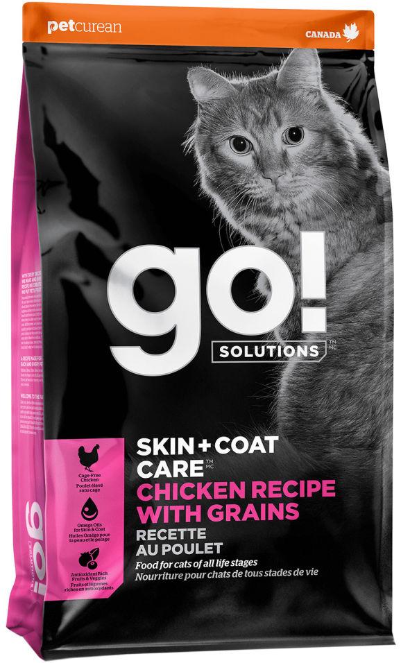 Сухой корм для кошек Go! с курицей фруктами и овощами 3.63кг
