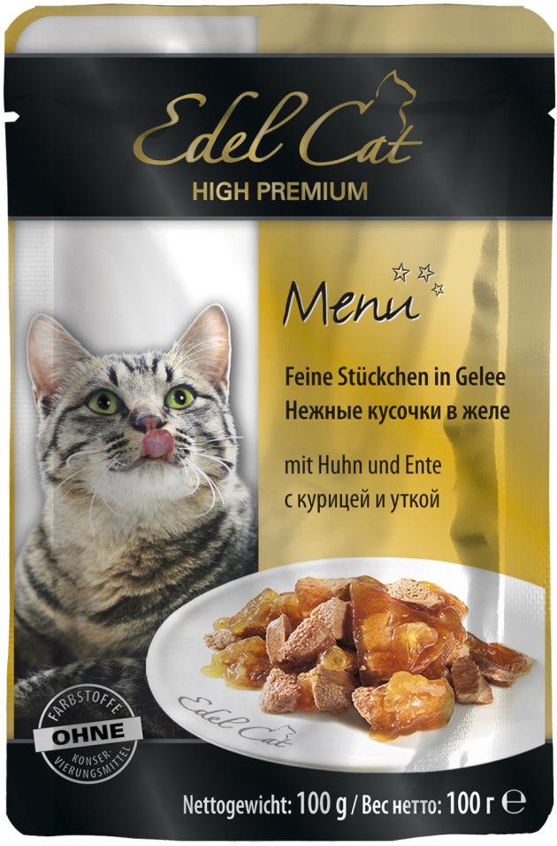 Корм для кошек Edel Cat Курица и утка 100г