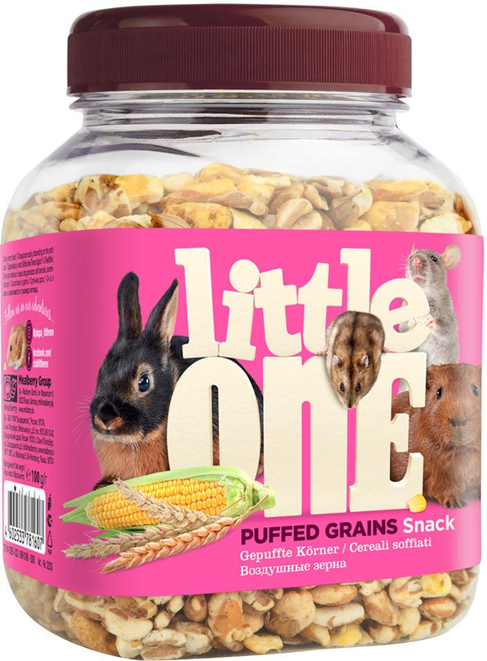 Лакомство для грызунов Little One Воздушные зерна 100г