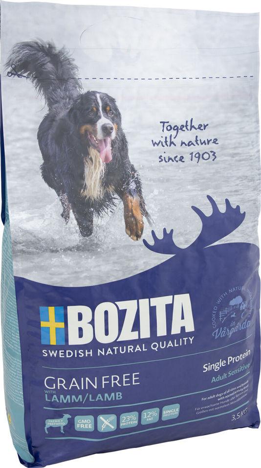 Сухой корм для собак Bozita Grain Free Lamb с ягненком 3.5кг