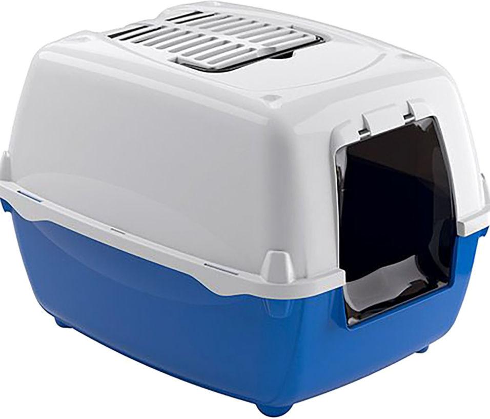 Биотуалет для кошек Ferplast Bella с угольным фильтром 56*44*37см