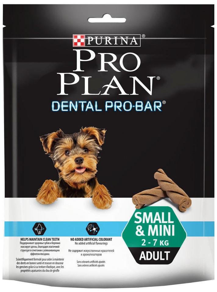 Лакомство для собак Pro Plan Dental Pro-Bar Small&Mini Adult 150г