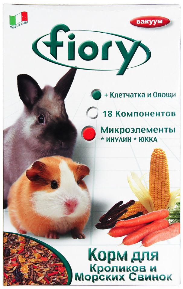 Отзывы о Корме для грызунов Fiory для морских свинок и кроликов 850г