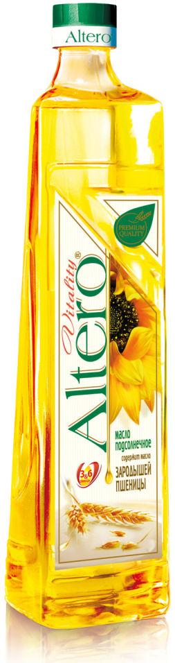 Масло подсолнечное Altero Vitality с зародышами пшеницы 810мл
