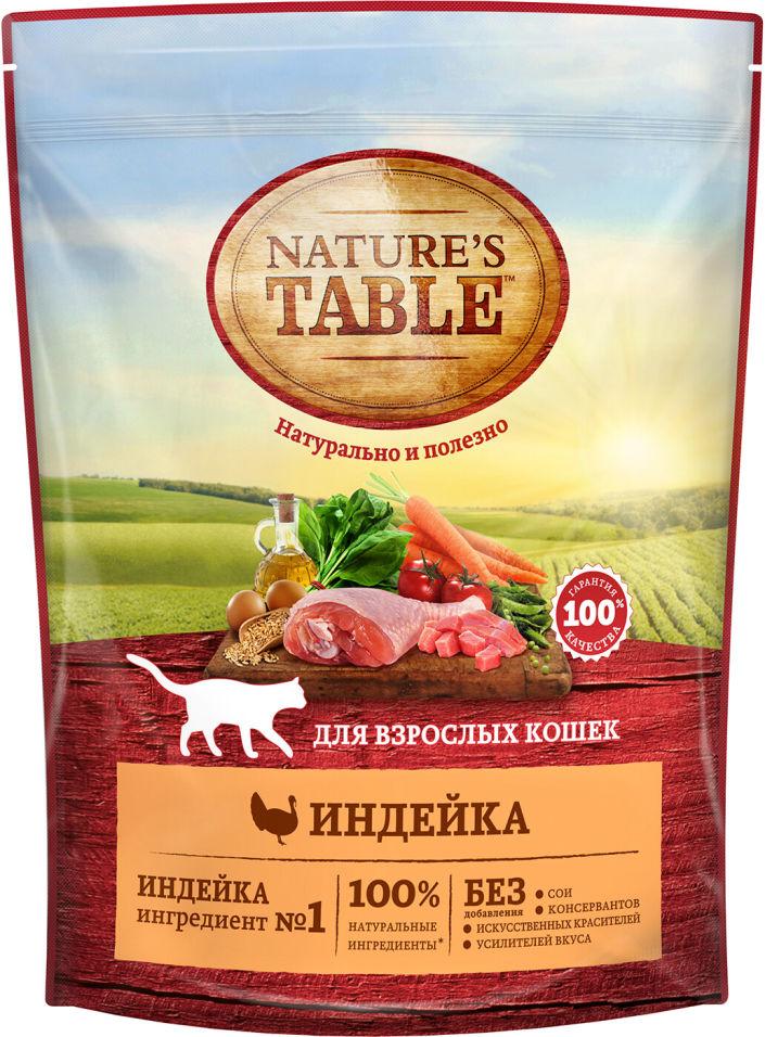 Отзывы о Сухом корме для кошек Natures Table Индейка 650г