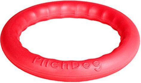 Игрушка для собак Pitchdog  Игровое кольцо розовое 28см