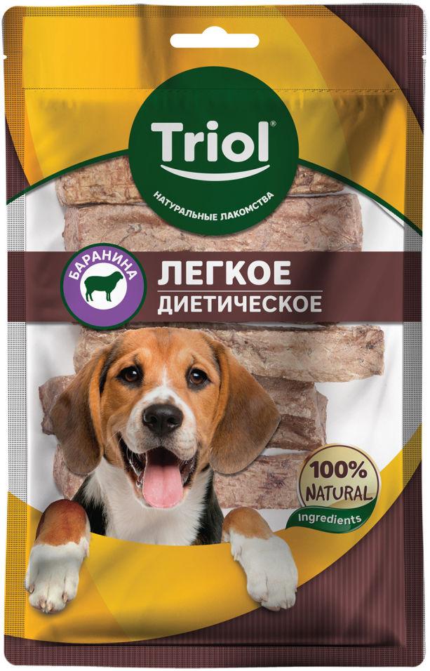 Лакомство для собак Triol Легкое баранье воздушное 40г