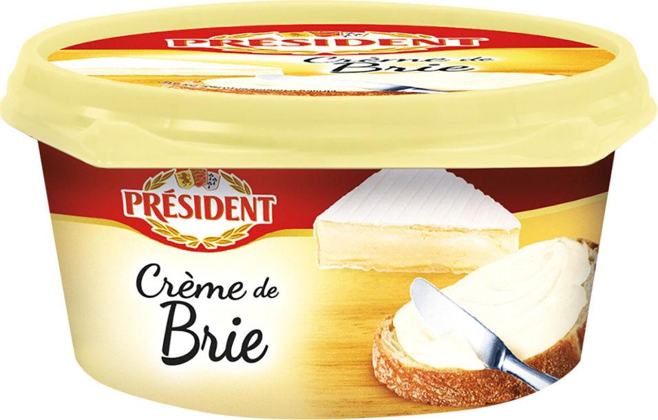 Отзывы о Сыре плавленом President Creme de Brie 50% 125г