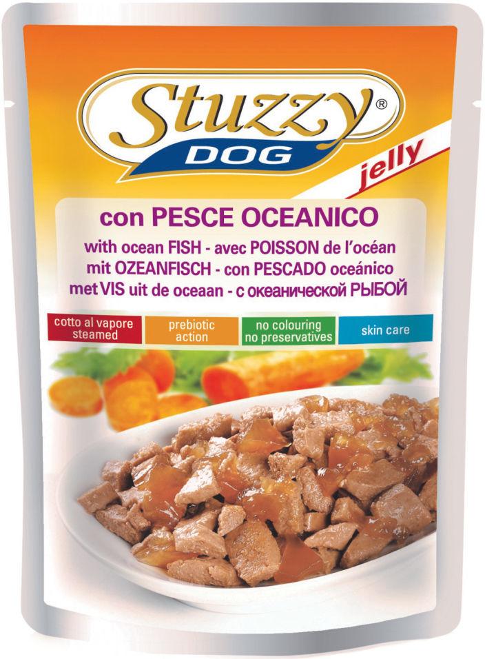 Корм для собак Stuzzy Dog с Океанической рыбой в желе 100г