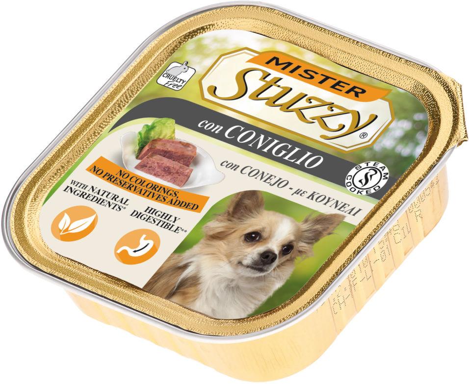 Корм для собак Mister Stuzzy Dog с кроликом 150г