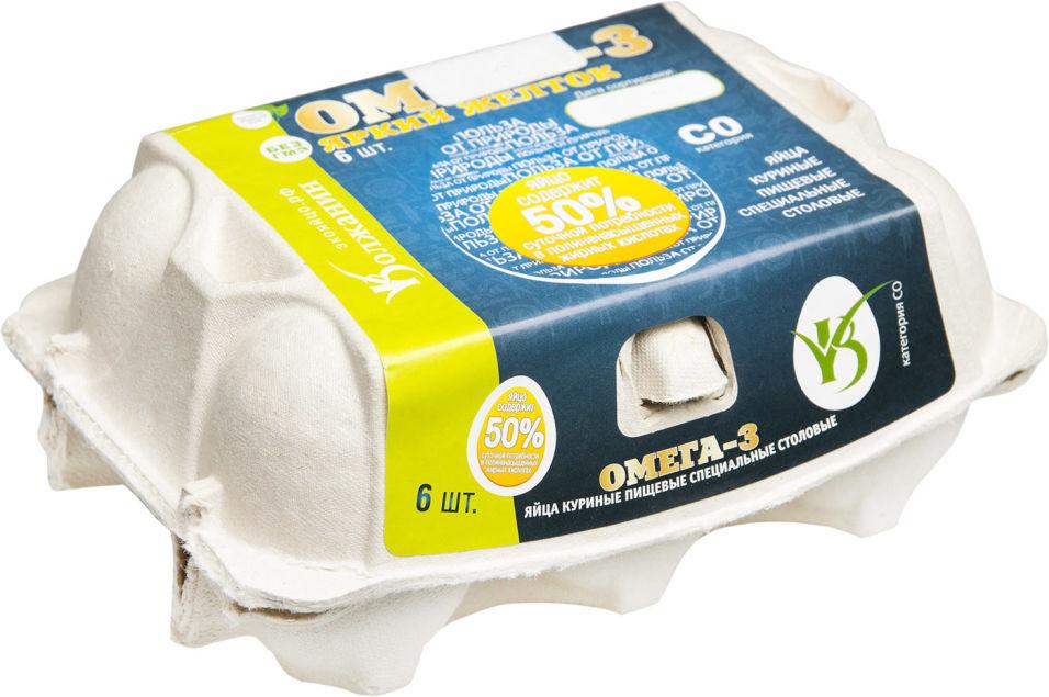Отзывы о Яйца Волжанин Омега-3 СО коричневые 6шт