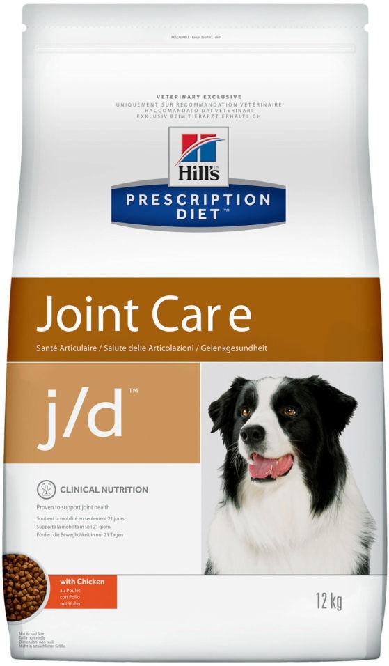 Сухой корм для собак Hills Prescription Diet JD с курицей 12кг