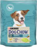 Сухой корм для щенков Dog Chow Small Breed Puppy с курицей 800г