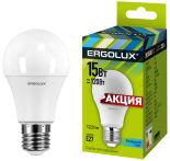 Лампа светодиодная Ergolux LED E27 15Вт