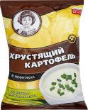 Чипсы Хрустящий Картофель со вкусом сметаны и лука 160г